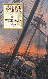 Cover by Geoff Hunt for The Wine-Dark Sea.