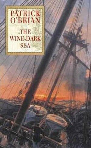 The Wine-Dark Sea - First edition cover