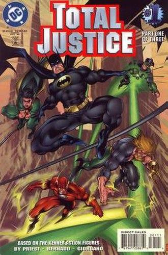 Batman Total Justice - Image: Total Justice 1