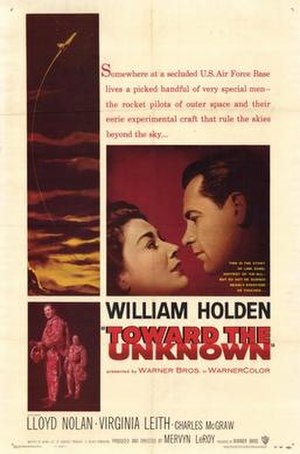 Toward the Unknown - theatrical film poster