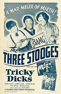 <i>Tricky Dicks</i> 1953 film by Jules White