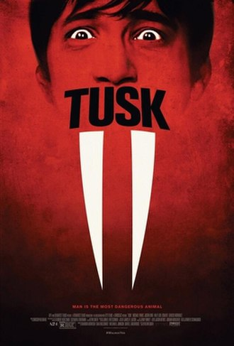 Tusk (2014 film) - Theatrical release poster