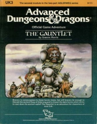 The Gauntlet (module) - Image: UK3Gauntlet Cover
