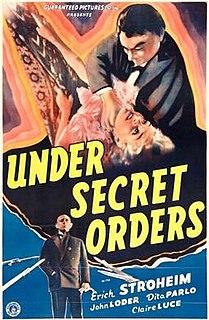 <i>Under Secret Orders</i>