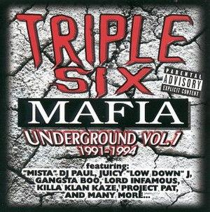 Underground Vol. 1: (1991–1994) - Image: Underground Vol 1