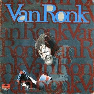 Van Ronk - Image: Van Ron LP