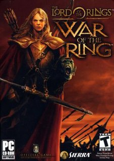 <i>The Lord of the Rings: War of the Ring</i> 2003 video game