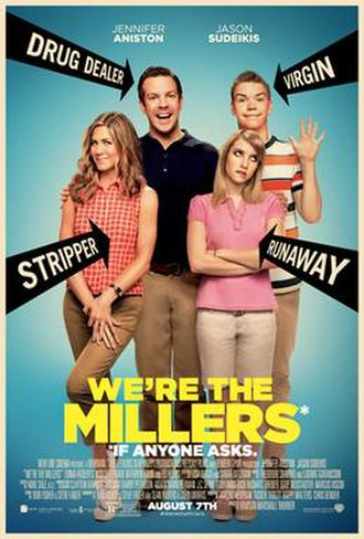 We're the Millers - Image: We're the Millers poster