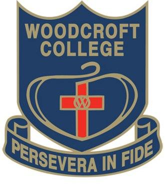 Woodcroft College - Image: Woodcroft College logo