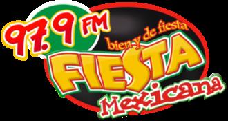 XHEBC-FM - Image: XHEBC Fiesta Mexicana 97.9 logo