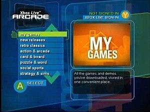 Xbox Live Arcade - Xbox Live Arcade on Xbox (2004)