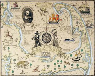 Coulton Waugh - Coulton Waugh's A Map of Cape Cod (1926), a hand-coloured print.
