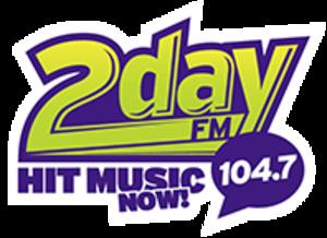 CFRI-FM - Image: 104.7 2day FM