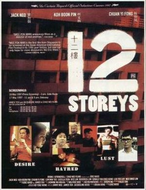 12 Storeys - French Film Poster