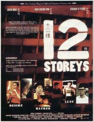 12 Storeys - French Film Poster
