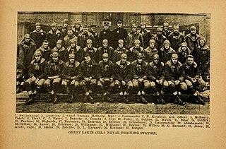 1918 Great Lakes Navy Bluejackets football team American college football season