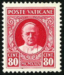 postage stamps and postal history of vatican city wikipedia