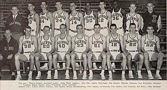 1957–58 Illinois Fighting Illini men's basketball team - Image: 1957–58 Illinois Fighting Illini men's basketball team