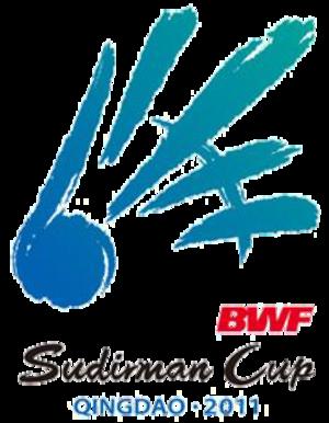 2011 Sudirman Cup - Image: 2011 Sudirman Cup logo