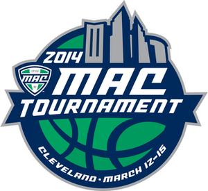 2014 MAC Men's Basketball Tournament - Image: 2014MACBBall