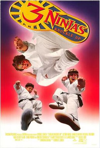 3 Ninjas Knuckle Up - Theatrical release poster