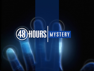 48 Hours (TV series) - Image: 48 Hours Mystery logo