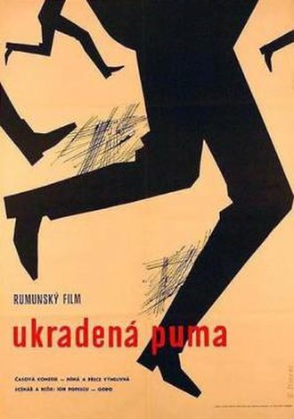 A Bomb Was Stolen - Film Poster (from Czechoslovakia)