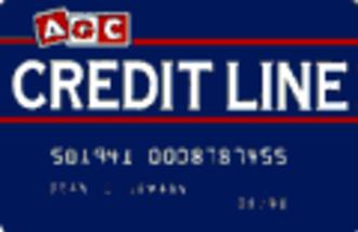 Australian Guarantee Corporation - AGC Creditline Card Design