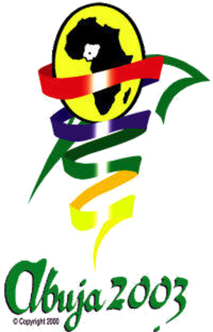2003 All-Africa Games - Image: Abuja 2003logo