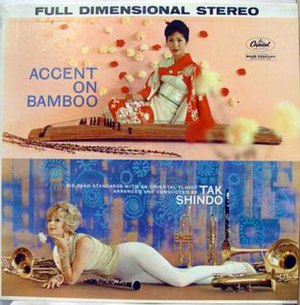 "Tak Shindo - ""Accent on Bamboo"" album cover"