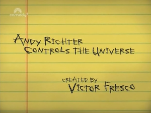 Andy Richter Controls the Universe - Image: Andy Richter Controls The Universe