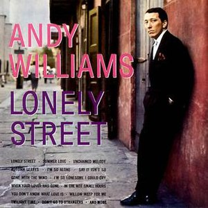 Lonely Street (album) - Image: Andy Williams Lonely Street