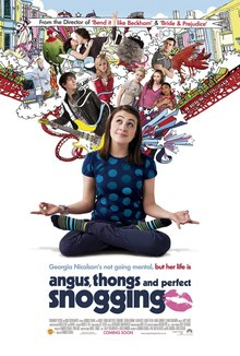 Image result for angus thongs and perfect snogging