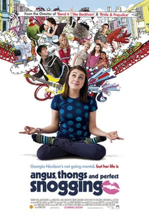 Angus, Thongs and Perfect Snogging - Theatrical release poster