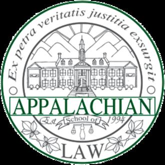 Appalachian School of Law - Seal of the school
