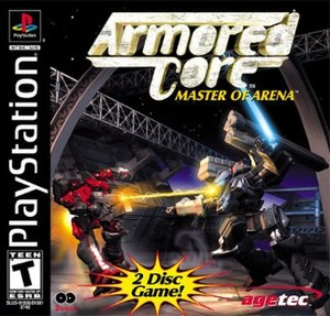 Armored Core: Master of Arena - Image: Armored Core Master of Arena cover