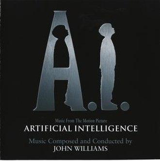 A.I. Artificial Intelligence (soundtrack) - Image: Artificial Intelligence cover