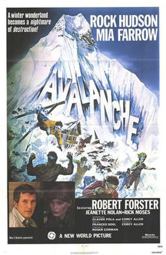 Avalanche (1978 film) - Theatrical release poster