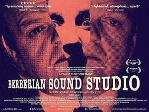 Berberian Sound Studio - British poster for Berberian Sound Studio