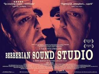 Berberian Sound Studio - British film poster