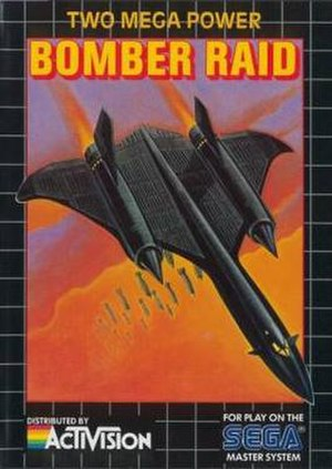 Bomber Raid - North American box art of Bomber Raid