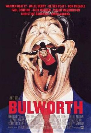 Bulworth - Theatrical release poster