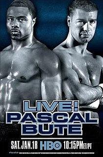 Jean Pascal vs. Lucian Bute Boxing competition