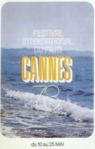 1973 Cannes Film Festival - Official poster of the 26th Cannes Film Festival
