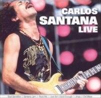 Carlos Santana Live album cover