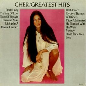 Greatest Hits (Cher album) - Image: Cher Greatest Hits 362194