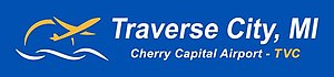 Cherry Capital Airport - Image: Cherry Capital Airport TVC logo