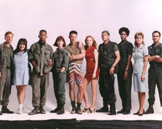China Beach - Season 3 China Beach cast (left to right): Ned Vaughn (Jeff Hyers), Ricki Lake (Holly Pelegrino), Michael Boatman (Sam Beckett), Dana Delany (Nurse Colleen McMurphy), Brian Wimmer (Boonie Lanier), Marg Helgenberger (K.C.), Jeff Kober (Dodger), Nancy Giles (Frankie Bunsen), Concetta Tomei (Lila Garreau), Robert Picardo (Dr. Richard)