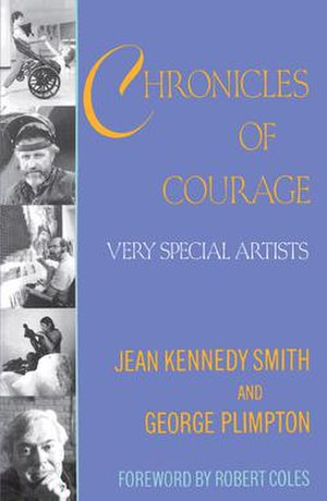 Chronicles of Courage: Very Special Artists - Cover of the first edition.