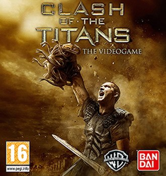 Clash of the Titans (video game) - Cover art